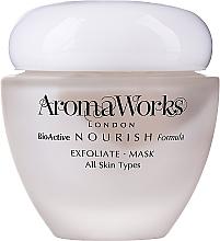 Parfums et Produits cosmétiques Masque exfoliant à la poudre de bambou pour visage - AromaWorks Nourish Face Exfoliate Mask