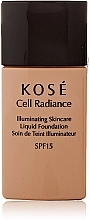 Parfums et Produits cosmétiques Fond de teint liquide - Kose Cell Radiance Illuminating Liquid Foundation
