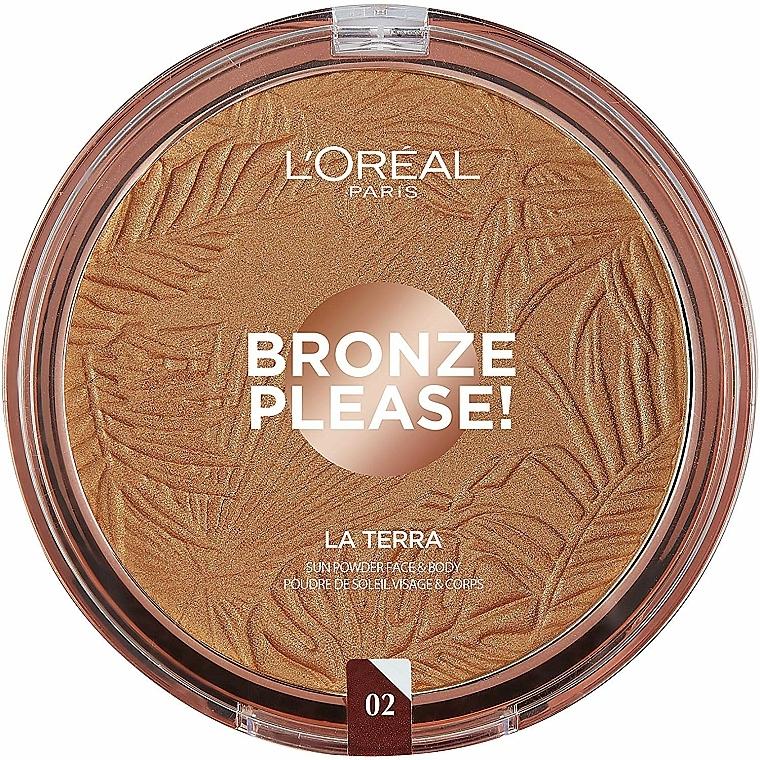 Poudre bronzante pour visage et corps - L'Oreal Paris La Terra Joli Bronze Bronzer