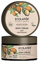 Parfums et Produits cosmétiques Crème bio à l'huile d'argan pour corps - Ecolatier Organic Argana Body Cream