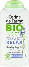 Parfums et Produits cosmétiques Douche soin à l'extrait de fleur de pensée sauvage bio - Corine De Farme Relax Shower Cream
