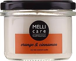 Parfums et Produits cosmétiques Bougie parfumée, Orange et Cannelle - Melli Care Orange & Cinnamon Soy Wax Scented Candle