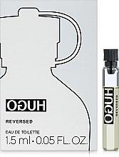 Parfums et Produits cosmétiques Hugo Boss Hugo Reversed - Eau de Toilette (échantillon)