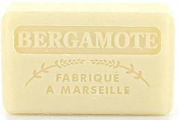 Parfums et Produits cosmétiques Savon végétal de Marseille, Bergamote - Foufour Savonnette Marseillaise Bergamote