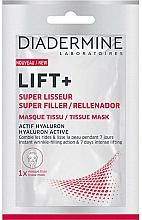 Parfums et Produits cosmétiques Masque tissu pour visage - Diadermine Lift+ Super Filler Tissue Mask
