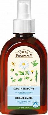 Élixir aux herbes pour cheveux - Green Pharmacy
