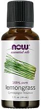 Parfums et Produits cosmétiques Huile essentielle de citronnelle - Now Foods Essential Oils 100% Pure Lemongrass