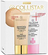 Parfums et Produits cosmétiques Collistar Deep Moisturizing Mou - Coffret (fond de teint/30ml + crème visage /25ml)