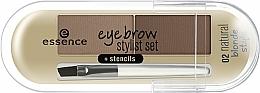 Parfums et Produits cosmétiques Poudre à sourcils - Essence Eyebrow Stylist