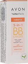 Parfums et Produits cosmétiques BB crème à l'extrait de papaye - Avon Nutra Effects Radiance BB Cream With Papaya Extract SPF 15