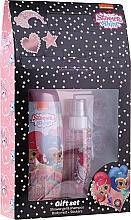 Parfums et Produits cosmétiques Uroda Polska Shimmer Shine Gift Set - Set (gel douche et shampooing/250ml + brume corporelle/110ml + autocollants)