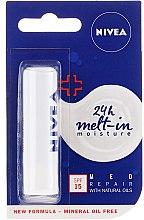 Parfums et Produits cosmétiques Baume à lèvres - Nivea Med Repair Lip Care SPF15