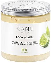 Parfums et Produits cosmétiques Gommage pour corps Lime - Kanu Nature Lime Body Scrub