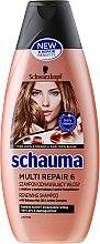 Parfums et Produits cosmétiques Shampooing régénérant à l'huile de babassu et complexe aminé - Schwarzkopf Schauma Multi Repair 6
