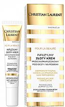 Parfums et Produits cosmétiques Crème anti-rides avec particules dorées contour des yeux - Christian Laurent Pour La Beaute