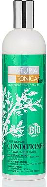 Après-shampooing à l'huile de cèdre, amla et baies de Goji - Natura Estonica Fast Repair Conditioner — Photo N1