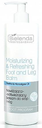 Baume rafraîchissant au menthol pour jambes et pieds - Bielenda Professional Foot Program