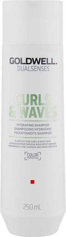 Shampooing aux protéines de lait - Goldwell Dualsenses Curls & Waves Hydrating Shampoo