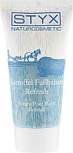 Parfums et Produits cosmétiques Baume à la pomme de terre pour pieds - Styx Naturcosmetic Potato Care Foot Balm Refresh