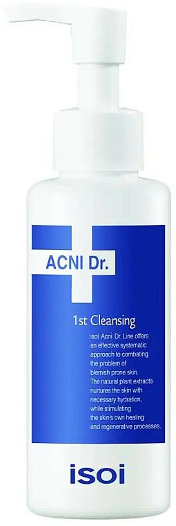 Gel nettoyant apaisant à l'extrait de feuille de saule blanc pour visage - Isoi Acni Dr. 1st Cleansing Soothing Gel Cleanser — Photo N1