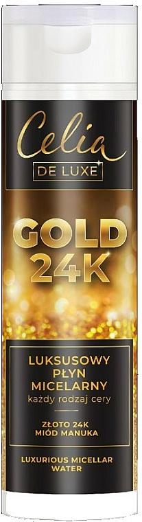 Eau micellaire au miel de Manuka - Celia De Luxe Gold 24k