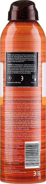 Lotion autobronzante - Australian Gold Self-Tanning Spray Sunless Instant — Photo N2