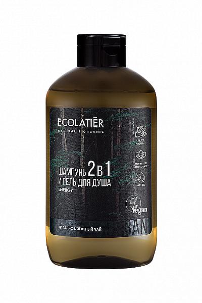 Gel douche pour corps et cheveux - Ecolatier Urban Energy