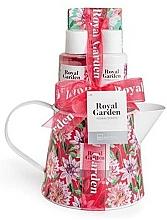 Parfums et Produits cosmétiques Coffret cadeau - IDC Institute Royal Garden (sh/g/100ml+b/lot/100ml+salt/150g+soap/25g)
