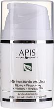 Parfums et Produits cosmétiques Mélange d'acides pour exfoliation Phytique+pyruvique, lactique+férulique 40% - APIS Professional Fit + Pirpgron + Milk + Ferulic 40%