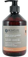 Parfums et Produits cosmétiques Shampooing à l'huile d'argan - Beetre BeNature Damage Repair Shampoo