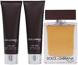 Dolce & Gabbana The One for Men - Coffret (eau de toilette/100ml + baume après-rasage/50ml + gel douche/50ml) — Photo N3