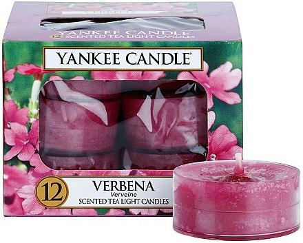 Bougies chauffe-plats parfumées Verveine - Yankee Candle Scented Tea Light Candles Verbena — Photo N1
