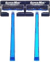 Parfums et Produits cosmétiques Lot de 48 rasoirs jetables - Super-Max Twin Blade