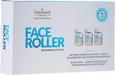 Concentré actif pour mésothérapie du visage - Farmona Professional Face Roller Active Anti-Ageing Concentrate