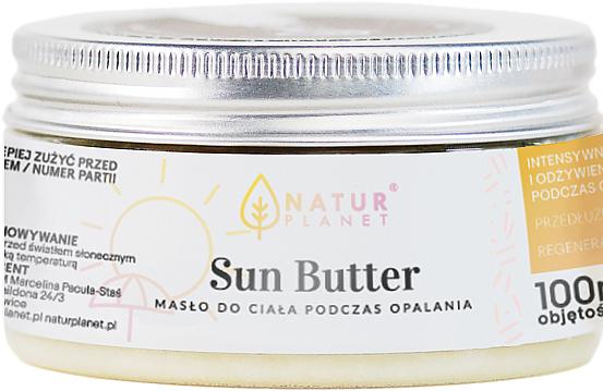 Beurre accélérateur du bronzage à la vitamine E pour corps - Natur Planet Sun Butter