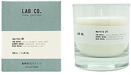 Parfums et Produits cosmétiques Bougie parfumée, Bergamote - Ambientair Lab Co. Myrtle