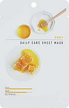 Parfums et Produits cosmétiques Masque tissu à l'extrait de miel pour visage - Eunyu Daily Care Sheet Mask Honey