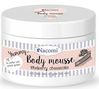 Mousse à la myrtille pour corps - Nacomi Body Mousse
