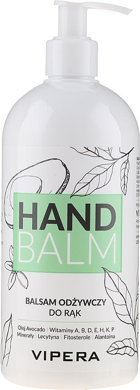 Baume à l'huile d'avocat pour mains - Vipera Nourishing Hand Balm