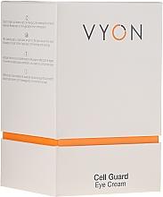 Parfums et Produits cosmétiques Crème à l'aloe vera pour contour des yeux - Vyon Cell Guard Eye Cream