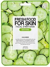 Parfums et Produits cosmétiques Masque tissu apaisant à l'extrait de concombre pour visage - Superfood For Skin Facial Sheet Mask Cucumber Soothing