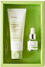 Parfums et Produits cosmétiques iUNIK Centella Edition Skincare Set - Coffret cadeau (crème visage/60ml + sérum à l'arbre à thé/15ml)