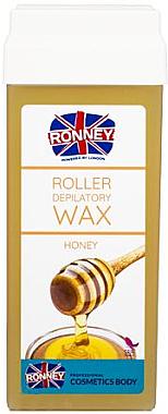 Cartouche de cire à épiler roll-on, Miel - Ronney Wax Cartridge Honey