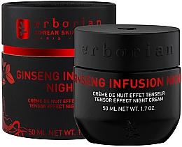 Parfums et Produits cosmétiques Crème de nuit à l'extrait de ginseng pour visage - Erborian Ginseng Infusion Night Cream