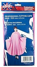 Parfums et Produits cosmétiques Cape de coiffure, rose - Ronney Professional Cutting Cape
