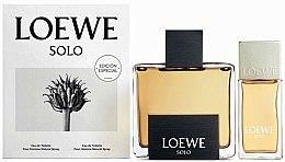 Parfums et Produits cosmétiques Loewe Solo Loewe - Coffret (eau de toilette 125ml + eau de toilette 30ml)