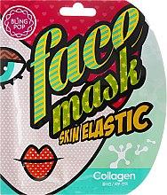 Parfums et Produits cosmétiques Gel masque tissu hydratant au collagène pour visage - Bling Pop Collagen Skin Elastic Face Mask