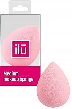 Parfums et Produits cosmétiques Éponge à maquillage, moyenne, rose - Ilu Sponge Raindrop Medium Pink