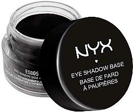 Parfums et Produits cosmétiques Base de fard à paupières, noire - NYX Professional Makeup Eyeshadow Base Black