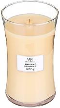 Parfums et Produits cosmétiques Bougie parfumée avec mèche en bois, Chevrefeuille - WoodWick Hourglass Candle Honeysuckle